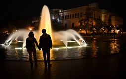 Balboa Park - Couple Fountain Stock Images