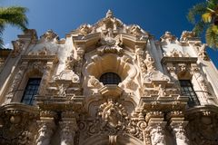 Balboa Park Fascade Stock Photos