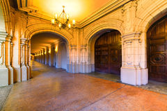 Balboa Park Hallway Stock Photography