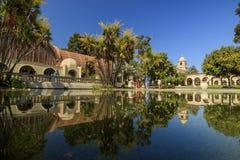 Balboa Park at Pasadena in afternoon Royalty Free Stock Photo