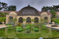 Balboa Park in San Diego. Close-up image of the botanical garden (Arboretum) at Balboa Park in San Diego Stock Image