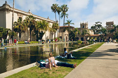 Balboa Park Weekend, San Diego California Royalty Free Stock Image
