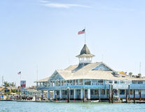 Balboa Pavilion, Newport Beach, California Stock Images
