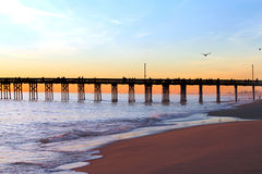 Balboa Pier Royalty Free Stock Images
