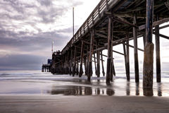 Balboa Pier Newport Beach Stock Photo