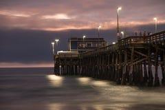 Balboa Pier Newport Beach Stock Image