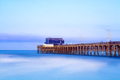 Balboa Pier at sunrise Royalty Free Stock Photography