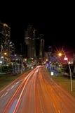 Balboaaveny Panama City Arkivbild