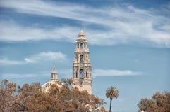 Balboaen parkerar San Diego Arkivfoto