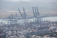 Balboahafencontainerbahnhof Lizenzfreies Stockfoto