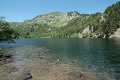 Balbonne lake in Pyrenees, France Stock Photo