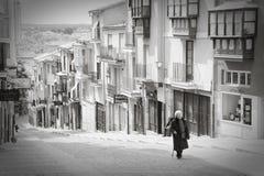 Balborraz街道,萨莫拉 库存图片