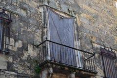 Balcó n cerrado Royalty-vrije Stock Foto