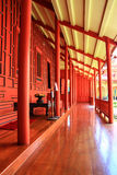 Balcão da casa tailandesa tradicional fotos de stock