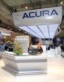Balcão de informações de Acura Imagem de Stock Royalty Free