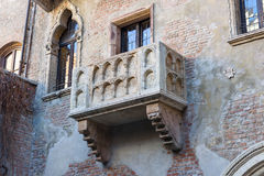 Balcão de Juliet em Verona foto de stock