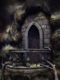Balcão gótico Fotografia de Stock