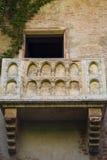 Balcão Verona de Juliets fotos de stock