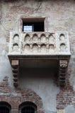 Balcão Verona de Juliets fotografia de stock