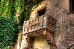 Balcão Verona de Juliets Foto de Stock Royalty Free