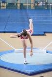 Balcãs Junior Indoor Championships Istanbul 2017 imagens de stock
