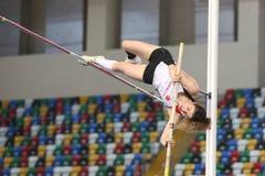 Balcãs Junior Indoor Championships Istanbul 2017 fotos de stock