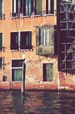 Balcón antiguo Fotografía de archivo libre de regalías