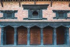 Balcón antiguo Imágenes de archivo libres de regalías