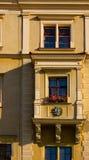 Balcón antiguo de Polonia Imágenes de archivo libres de regalías