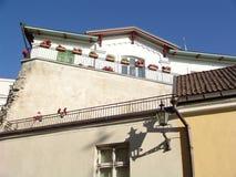 Balcón bonito Imagen de archivo libre de regalías