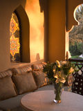 Balcón de Dubai Imágenes de archivo libres de regalías
