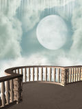 Balcón de la fantasía Imagen de archivo