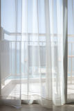 Balcón de la opinión del mar Imagenes de archivo