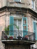 Balcón de New Orleans fotos de archivo libres de regalías