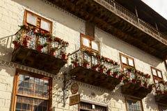 Balcón de Orotava del La Foto de archivo libre de regalías