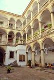 Balcón de piedra Foto de archivo