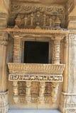 Balcón de piedra adornado Imágenes de archivo libres de regalías