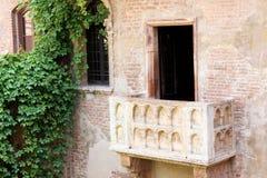 Balcón de Romeo y de Juliet Fotos de archivo libres de regalías