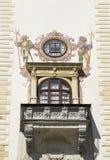 Balcón de un castillo Imagen de archivo