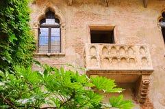 Balcón de Verona Imagen de archivo