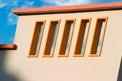 Balcón del art déco Fotografía de archivo libre de regalías