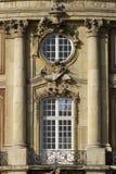 Balcón del castillo. Imagen de archivo libre de regalías