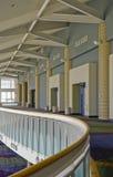 Balcón del centro de convención Imagen de archivo libre de regalías