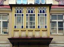 Balcón del estilo del vintage Imagen de archivo