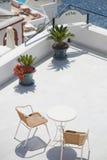 Balcón del hotel Foto de archivo libre de regalías