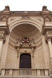 Balcón del palacio del gobierno Foto de archivo