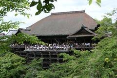 Balcón del templo Foto de archivo