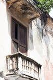Balcón en Cartagena de Indias Fotografía de archivo