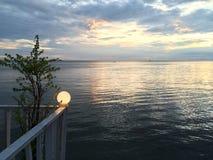 Balcón en el mar Fotos de archivo
