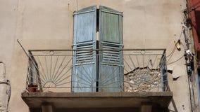 Balcón en el sur Francia imagen de archivo